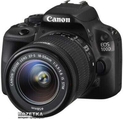 Canon EOS 100D Kit 18-55 IS STM Официальная гарантия! (8576B025)