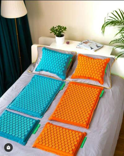 Массажный коврик с иглами Лотос