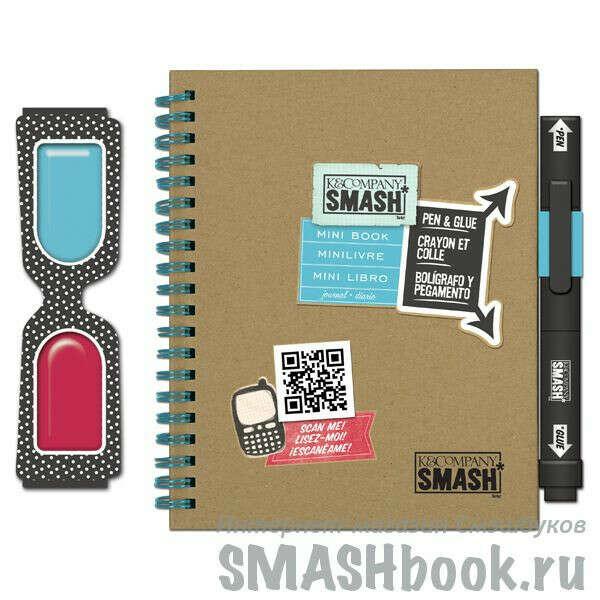 СМЭШбук SMASH* Мини Блокнот 3Д