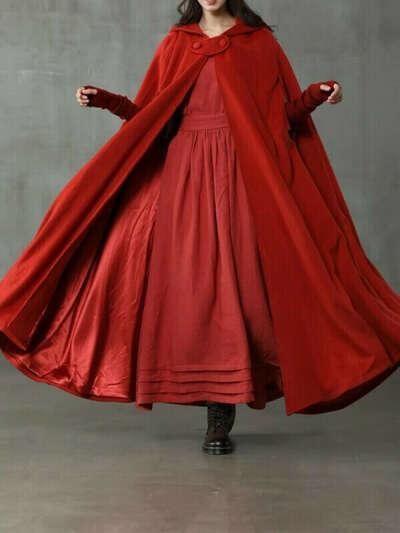 Пальто-плащ от soullfit.com