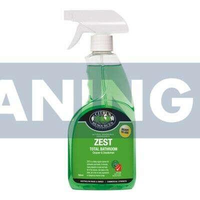 Citrus Resrouces Zest-RTU Washroom Cleaner 750ml - CHCR-50750
