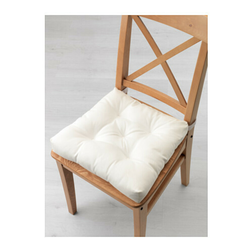 Малинда подушка на стул белая Ikea