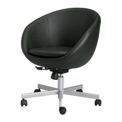 СКРУВСТА Рабочий стул - Идгульт черный  - IKEA
