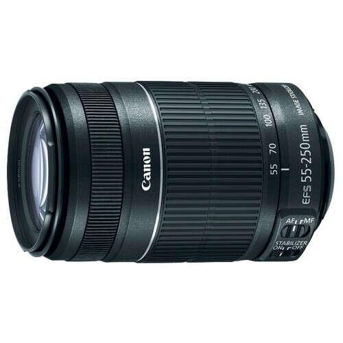 Телеобъектив Canon EF-S 55-250mm f/4-5.6