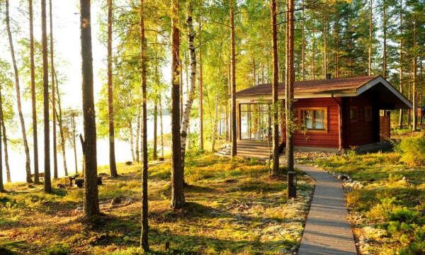 Отпуск в коттедже в Финляндии