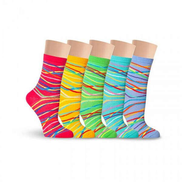 Прикольные яркие носки