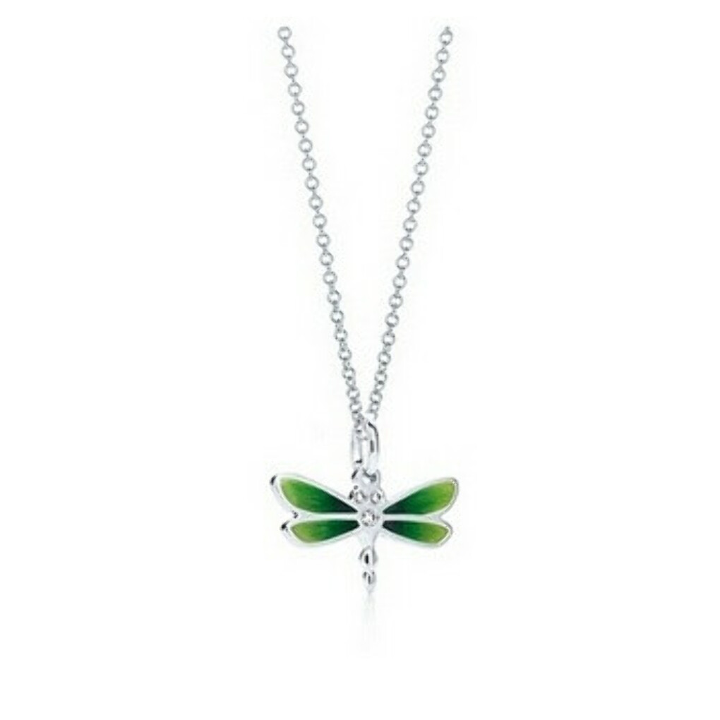 DRAGONFLY CHARM AND CHAIN