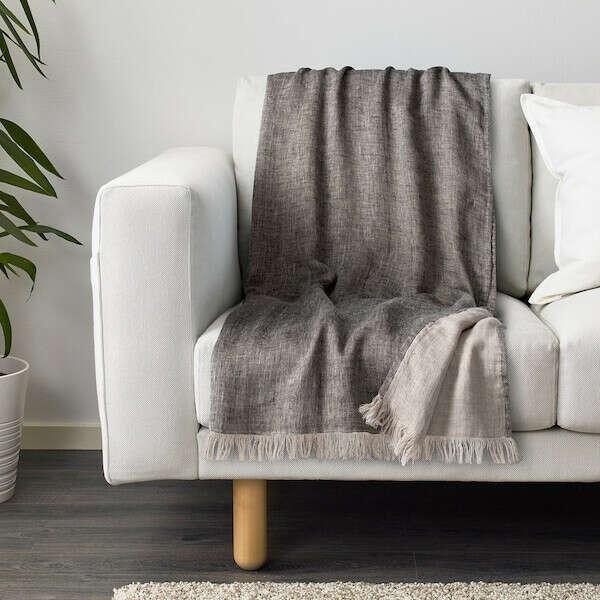 ГУЛЬТАЛЛ Плед - серый - IKEA