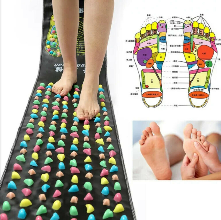 Коврик для точечного массажа ног SiPL 175 см