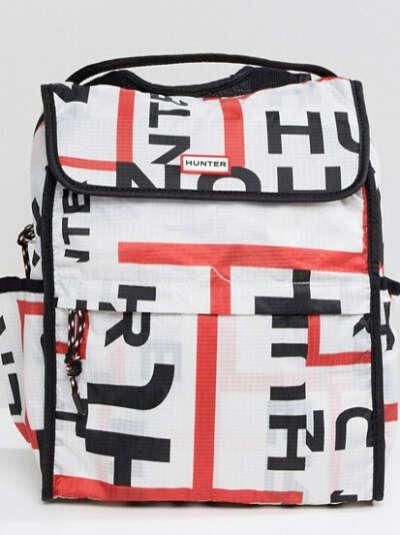 Рюкзак с принтом логотипа Hunter Original