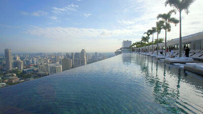 в Сингапур, Marina Bay Sands 5*,