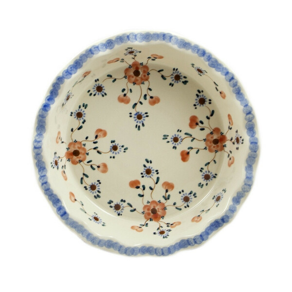 форма для выпечки круглая с волнистым краем