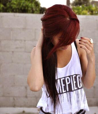 Покрасить волосы.