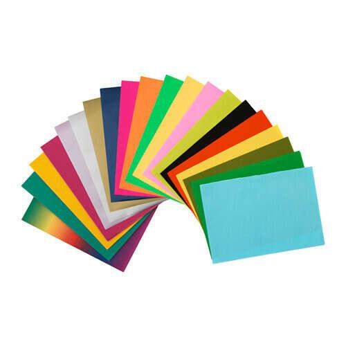 Разноцветная бумага икея