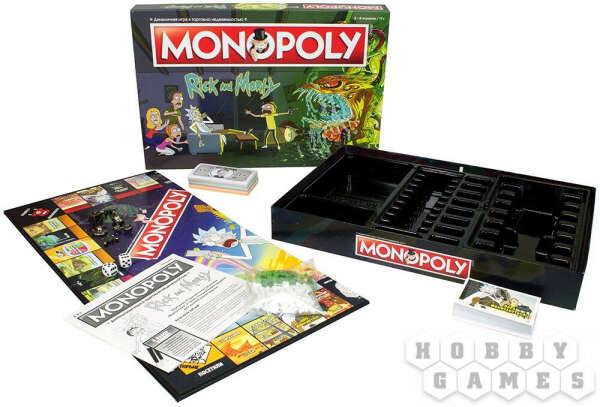 Монополия «Рик и Морти»