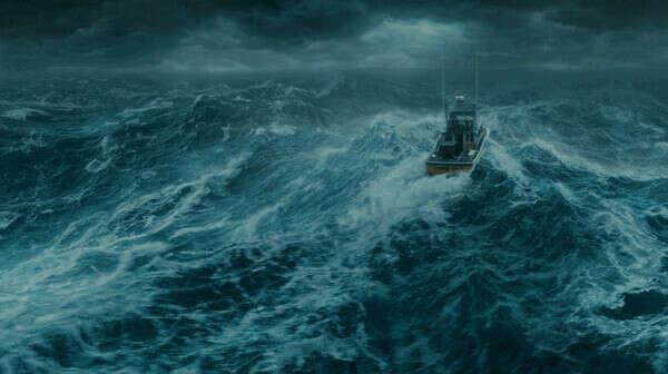 увидеть шторм на море