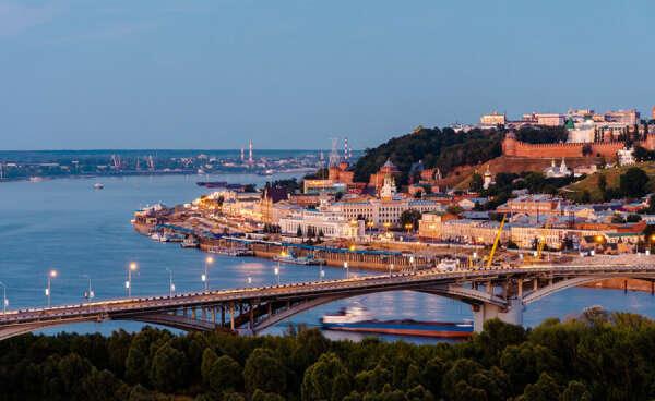 Побывать в в Нижнем Новгороде