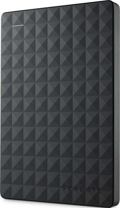 1 ТБ Внешний жесткий диск Seagate Expansion (STEA1000400), черный
