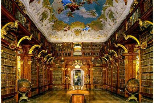 посетить Александрийскую библиотеку