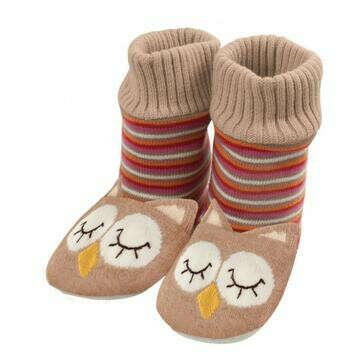 Тапочки-носочки «Совята»