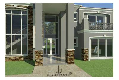 TX455D – 4 Bedroom House Plan