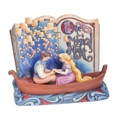 Jim Shore Disney Rapunzel Tangled One Magical Night Storybook Figurine