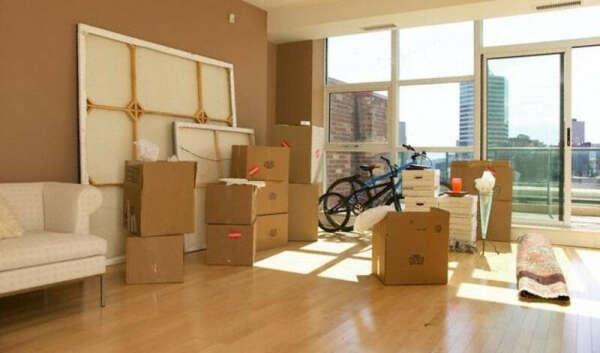 Переехать в новую квартиру