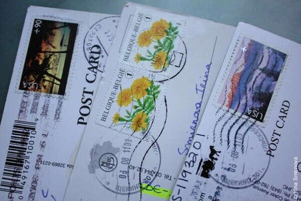 Чтобы люди слали мне открытки