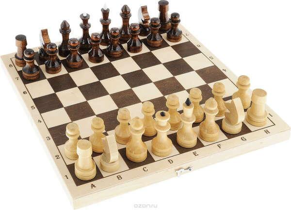 """Настольная игра """"Шахматы средние"""", размер: 40х145х290 мм"""