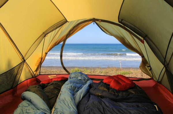 На Балтийскую косу с палатками