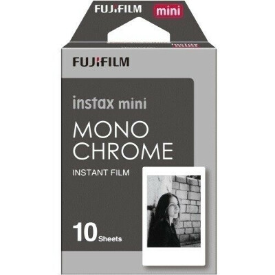 Фотопленка Instax Mini 10 Monochrome Fujifilm