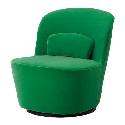 СТОКГОЛЬМ Вращающееся кресло - Сандбакка зеленый  - IKEA