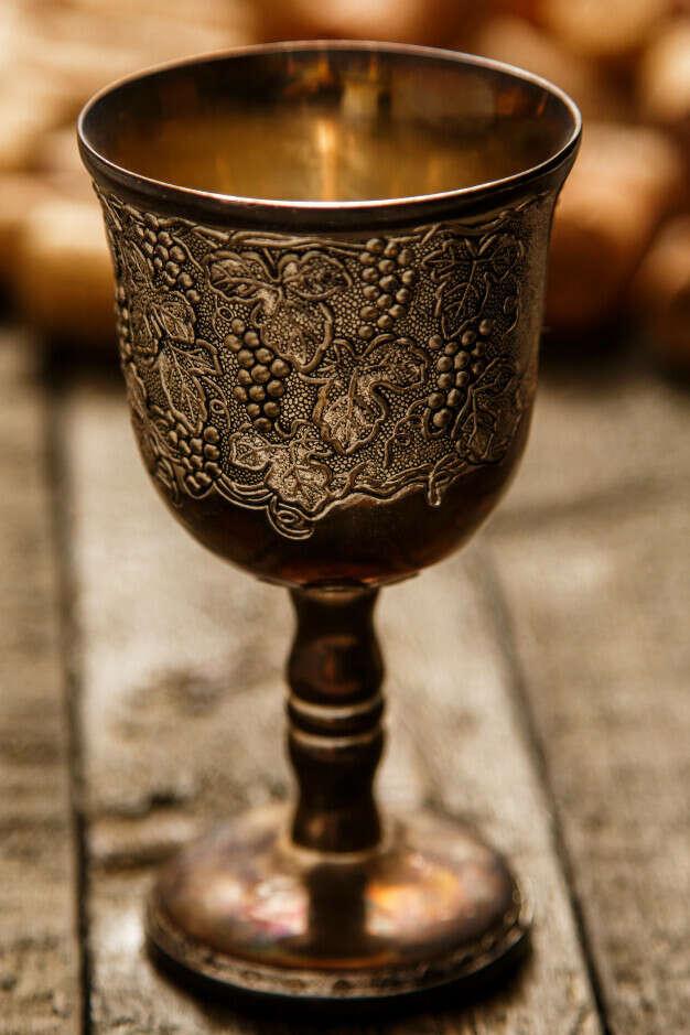 Стилизованный под старину бокал для РИ