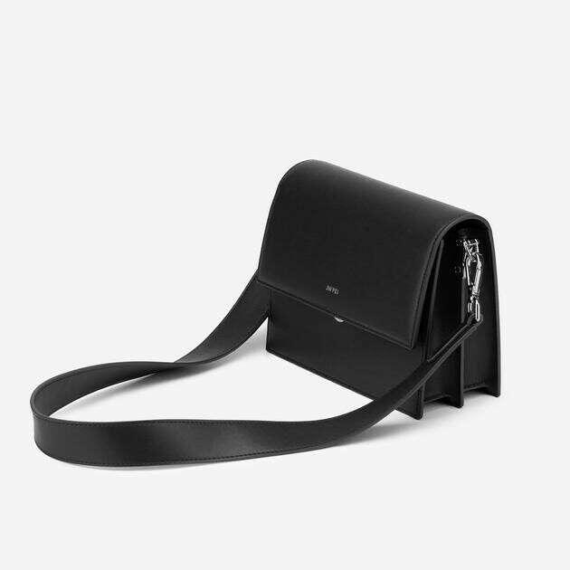 Mini Flap Bag - Black