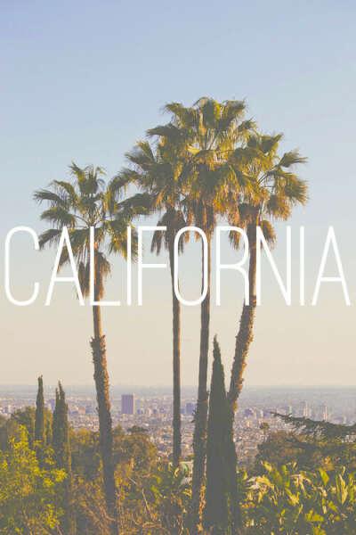 В Калифорнию
