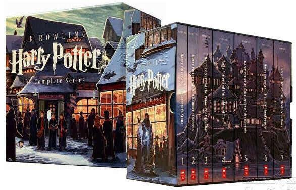 """Коллекционное издание книг """"Гарри Поттер"""""""