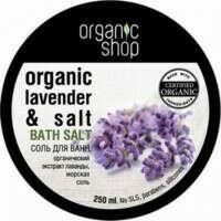Соль для ванн «Марсельская лаванда» Organic Shop