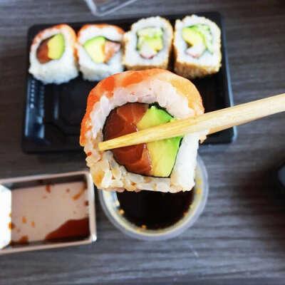 Попробовать суши