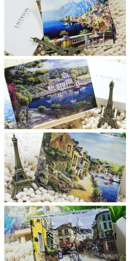 Набор милых открыток