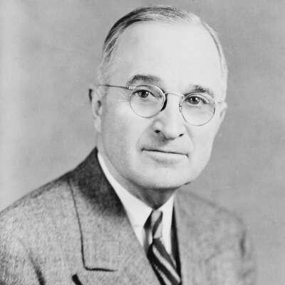 Harry S. Truman Bronze Statue