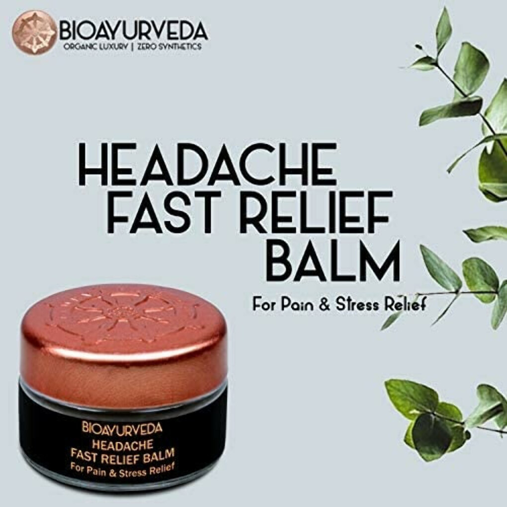 Looking for an essential and effective headache relief balm?