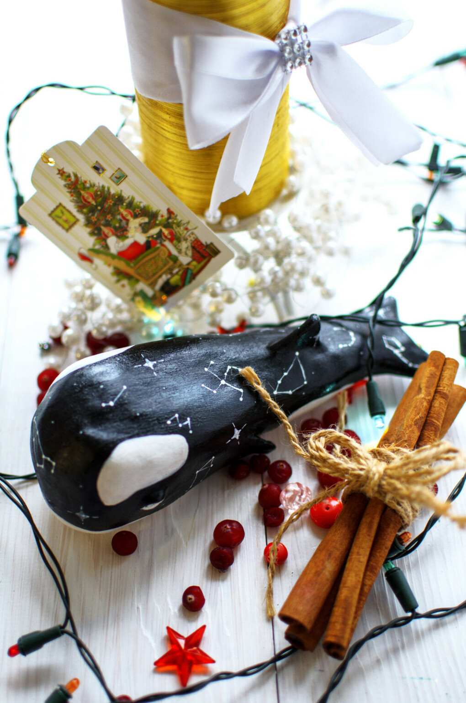 "Талисман дома ""Звездный кит"". керамика | «Ламбада-маркет»"