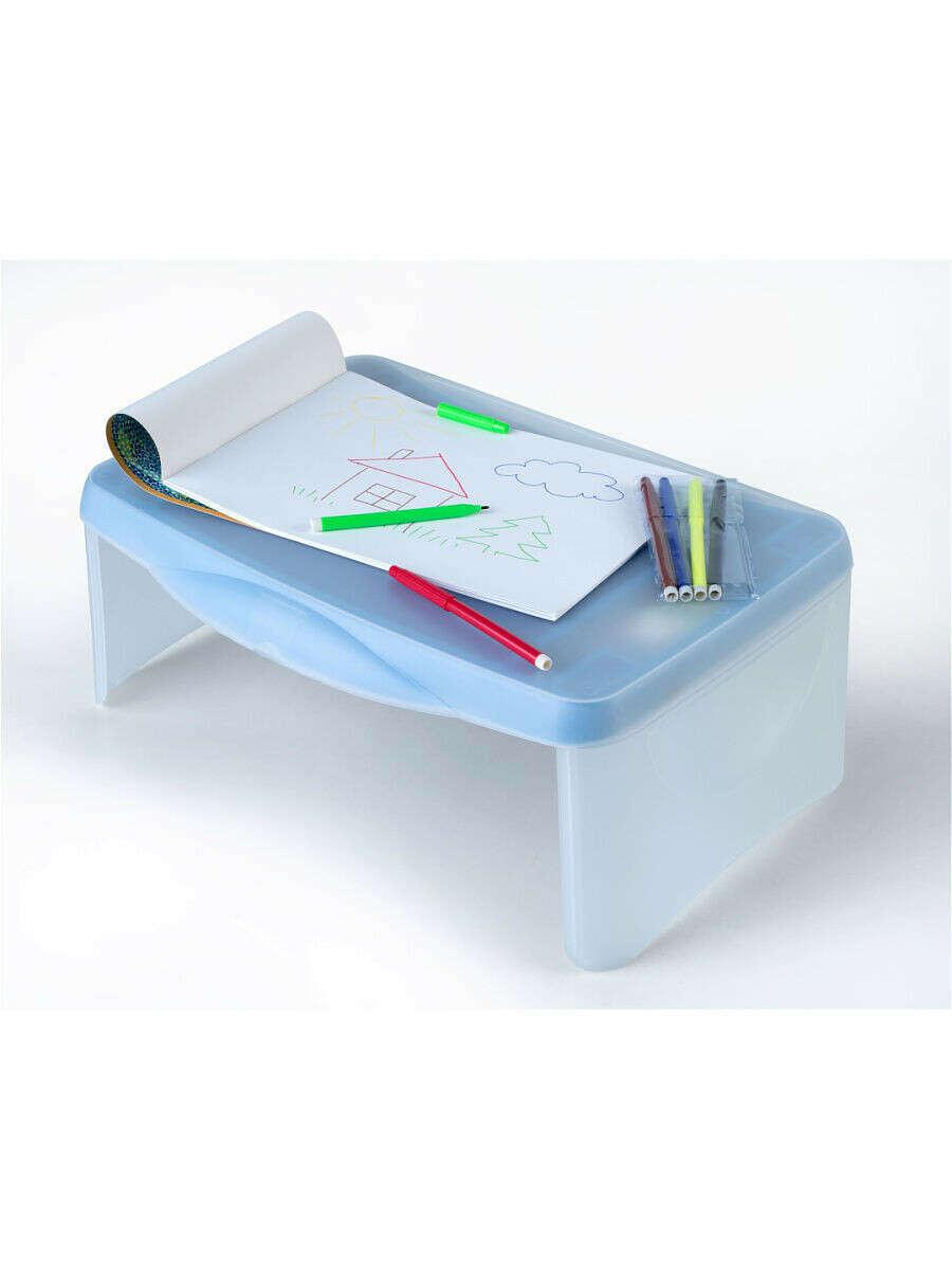 """Столик раскладной """"Фантом""""/Подставка-стол для ноутбука/Детский стол/Столик для детского творчества, RUGES"""
