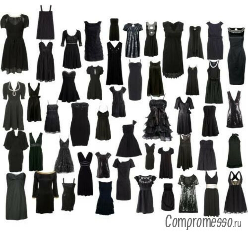 Маленькое черное платье *О*