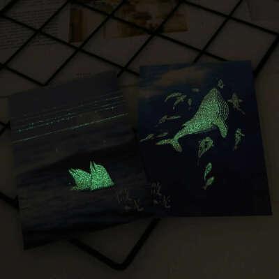 Открытки, светящиеся в темноте
