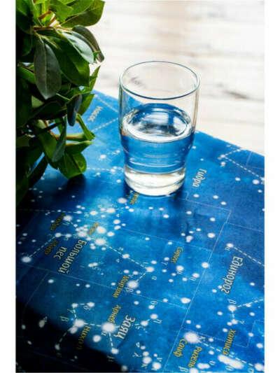 Скатерть Карта Звёздное Небо