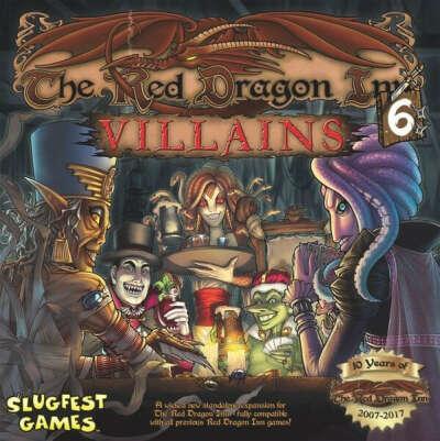 Slugfest Games Red Dragon Inn 6: Villains Board Game