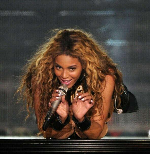 На концерт Beyonce