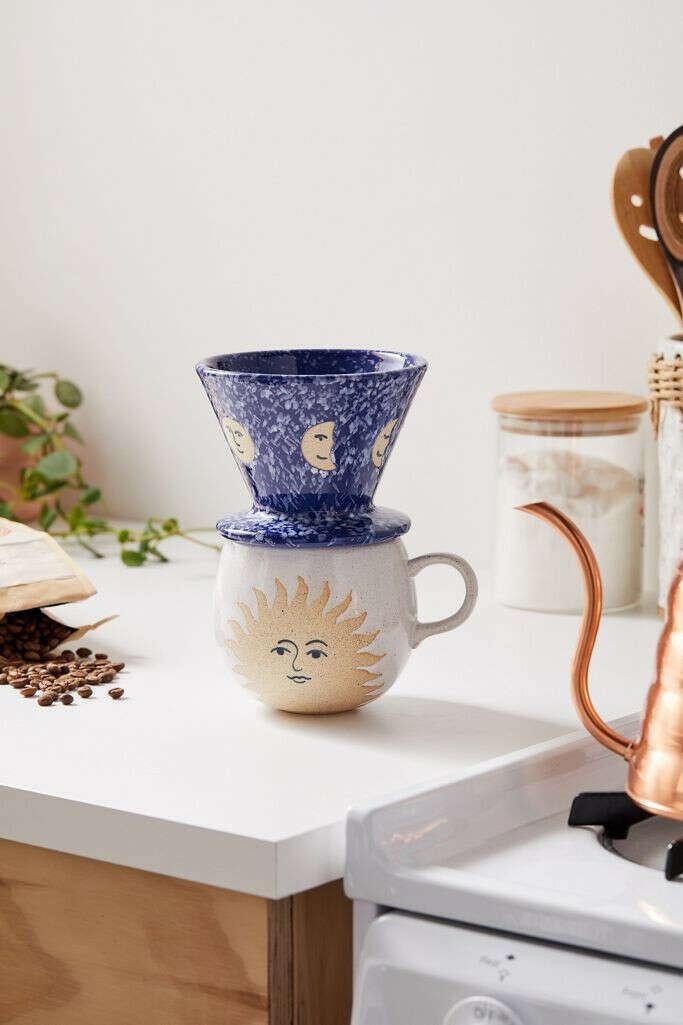 Celestial Pour-Over Coffee Set