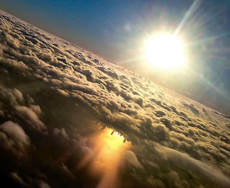 Встретить рассвет над облаками